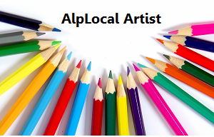 AlpLocal Watercolor Art Mobile Ads