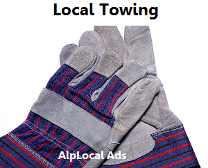 AlpLocal Towing Mobile Ads