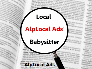 AlpLocal Babysitter Mobile Ads