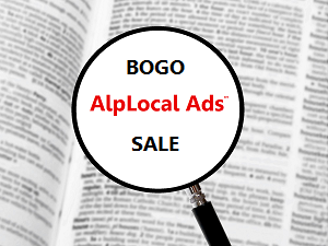 AlpLocal Bogo Mobile Ads