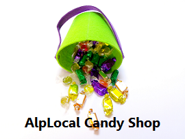 AlpLocal Candy Shop Mobile Ads