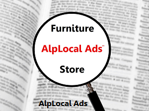 AlpLocal Furniture Store Mobile Ads