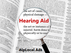 AlpLocal Hearing Aids Mobile Ads