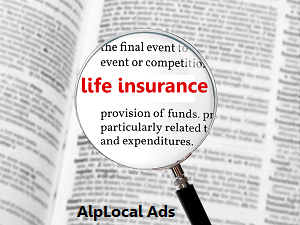 AlpLocal Life Insurance Mobile Ads