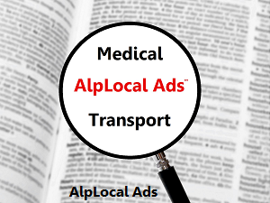 AlpLocal Medical Transport Mobile Ads