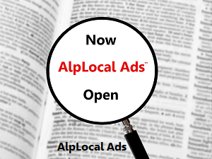 AlpLocal Mobile Ads Now Open