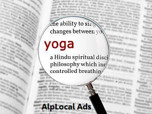 AlpLocal Yoga Classes Mobile Ads