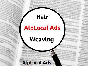 AlpLocal Hair Weaving Mobile Ads
