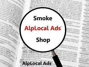 AlpLocal Smoke Shop Mobile Ads