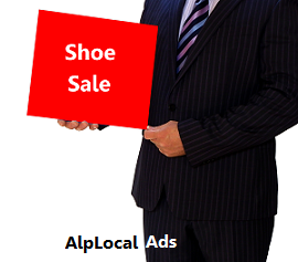 AlpLocal Shoes Mobile Ads