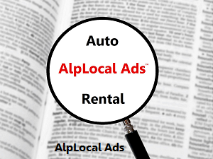 AlpLocal USA Auto Rental Mobile Ads