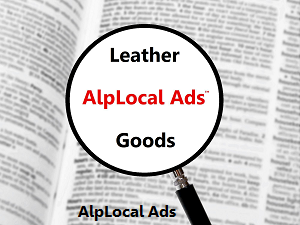 AlpLocal Leather Goods Mobile Ads