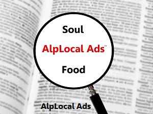 AlpLocal Soul Food Mobile Ads