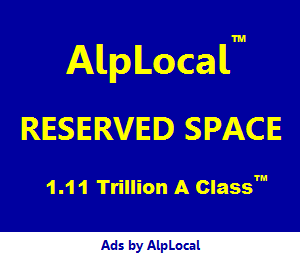 AlpLocal A Class Reserved Space
