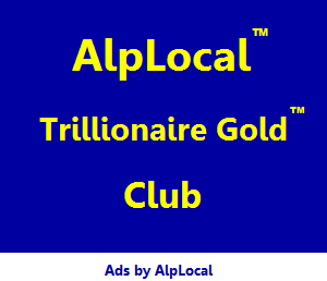 AlpLocal Trillionaire Gold Club Rewards