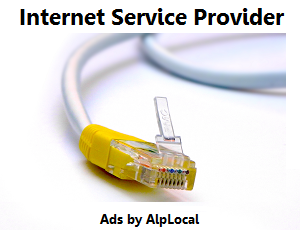 AlpLocal Internet Service Provider Mobile Ads