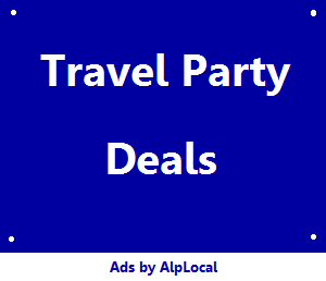 AlpLocal Travel Party Mobile Ads