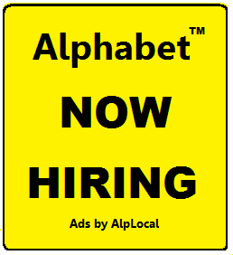 Alphabet Local Technology Jobs