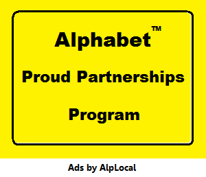Alphabet Local Proud Partnerships