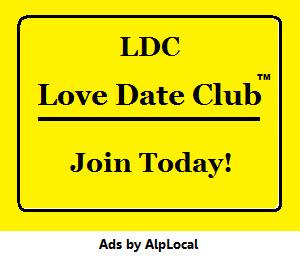 AlpLocal Love Date Club Mobile Ads