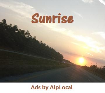Alphabet Sunrise Local Ads